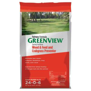 GreenView 36 lb. Fairway Formula Spring Fertilizer Weed and Feed and Crabgrass... by GreenView