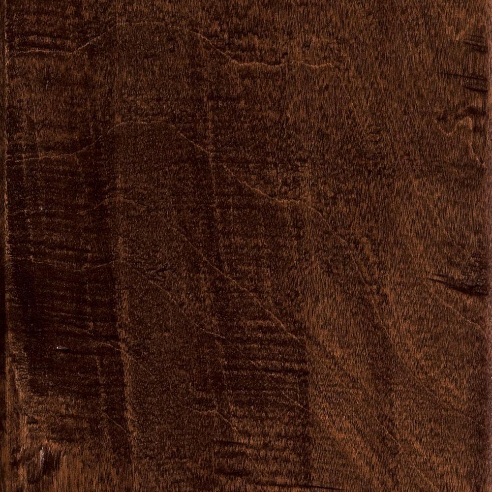 Hand Scraped Birch Heritage Click Lock Hardwood Flooring - 5 in. x 7 in. Take Home Sample