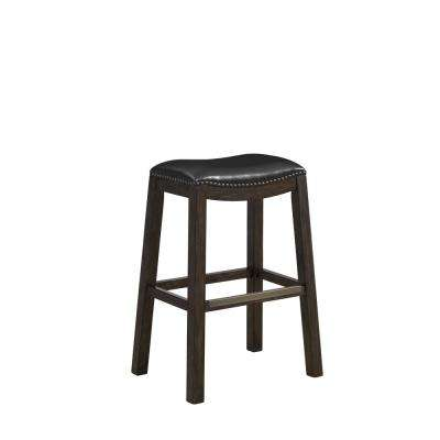 Austin 30 in. Brown Bar Height Stool in Riverbank