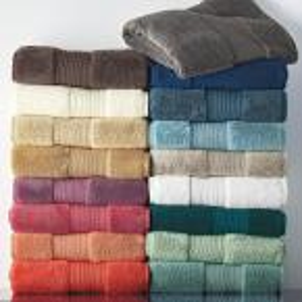 The Company Store Legends Regal Egyptian Cotton Single Bath Towel in Blue Sky