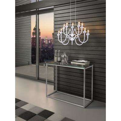 Supercell 9-Light Silver Ceiling Lamp