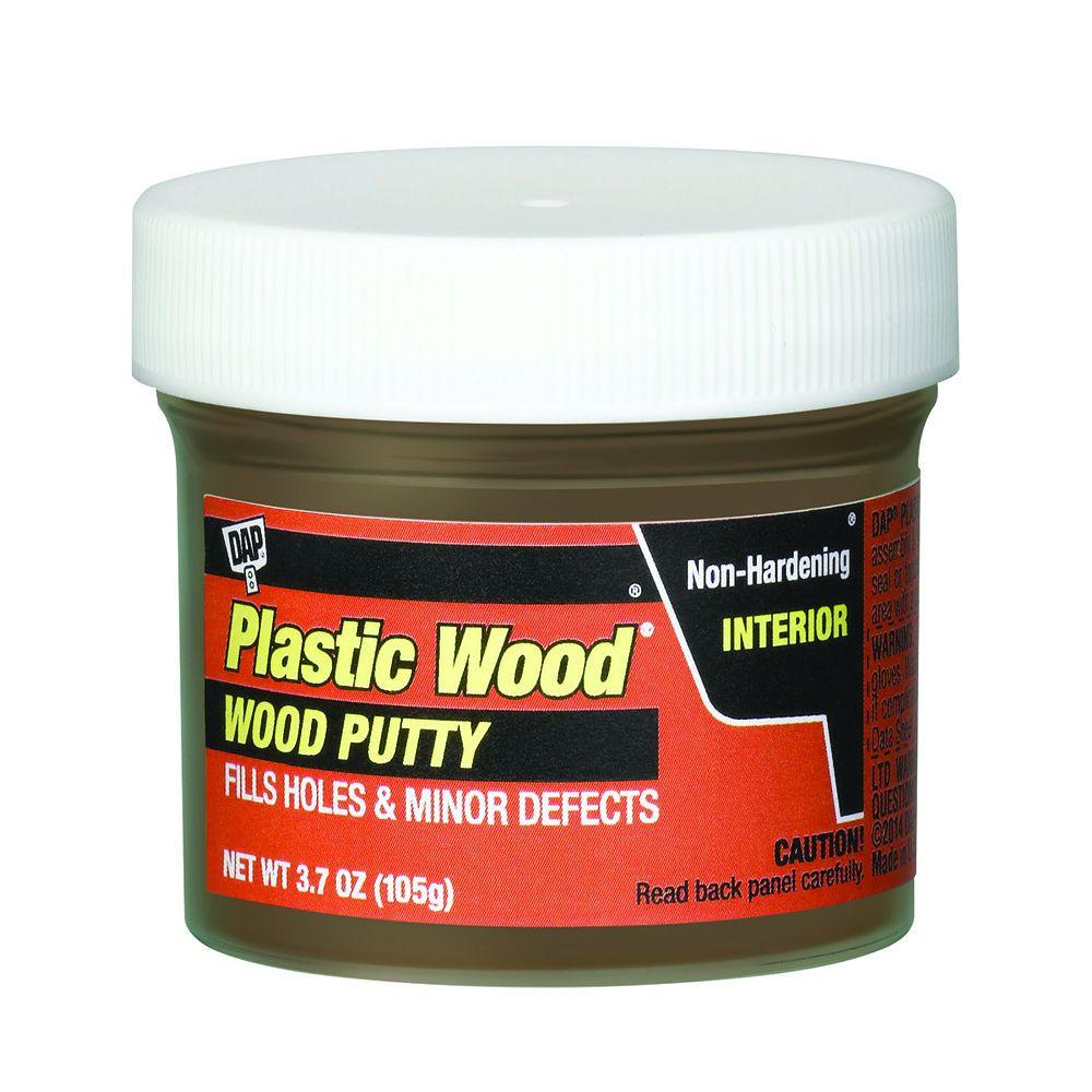 Plastic Wood 3.7 oz. Light Walnut Wood Putty (6-Pack)