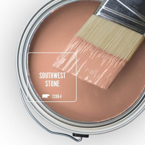 Reviews For Behr Ultra 5 Gal 220d 4 Southwest Stone Extra Durable Eggshell Enamel Interior Paint Primer 275405 The Home Depot
