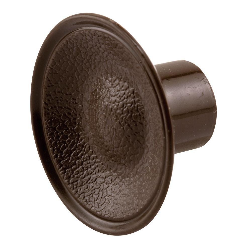 Prime Line Bi Fold Door Pull Knob Brown Plastic N 6871 The Home Depot