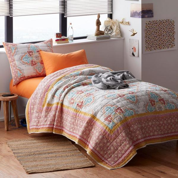 The Company Store Hallie Cotton Full/Queen Quilt 50403Q-FQ-MULTI