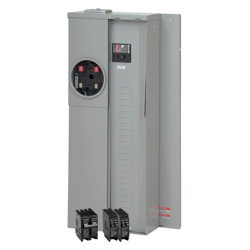 200 Amp 20-Space 40-Circuit Overhead/Underground Meter Breaker Value Pack