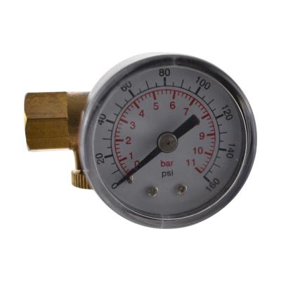 1/4 in. In-Line Air Adjustment Valve With Gauge