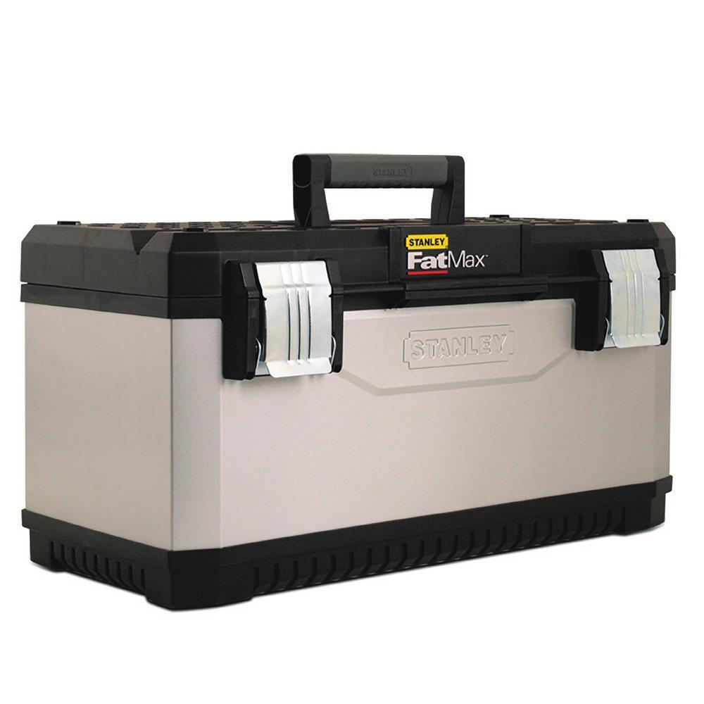 Stanley FATMAX 23 In. Metal And Plastic Tool Box