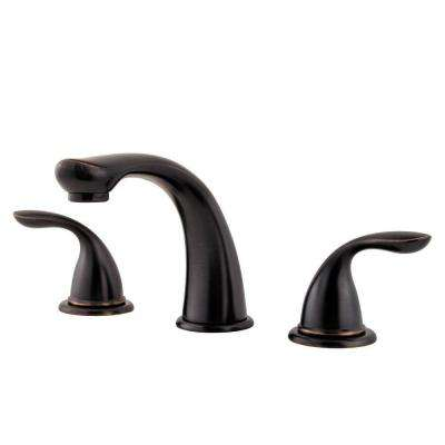 Pfirst Series 2-Handle Deck-Mount Roman Tub Faucet Trim Kit in Tuscan Bronze (Valve Not Included)