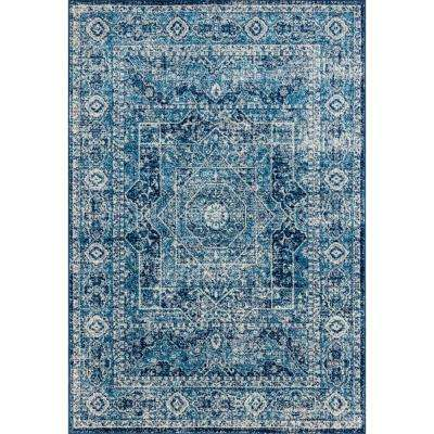 Abigail Britta Midnight Blue 13 ft. x 15 ft. Oversize Rug