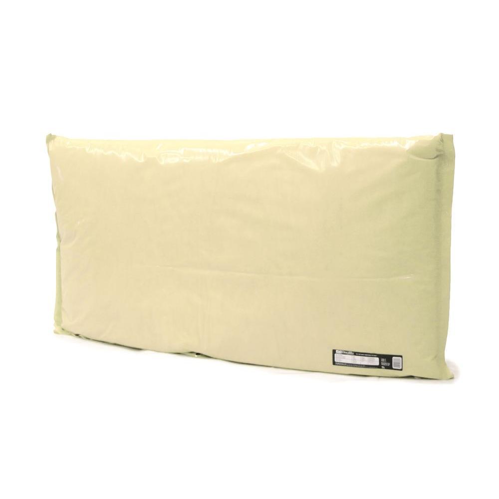 Dekorra 48 in. L x 30 in. H Large Fiberglass Encapsulated Tan Plastic Insulation Pouch