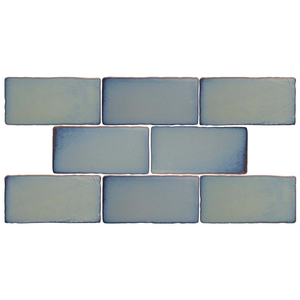 Merola Tile Antic Special Griggio 3 in. x 6 in. Ceramic Wall Tile (1 ...