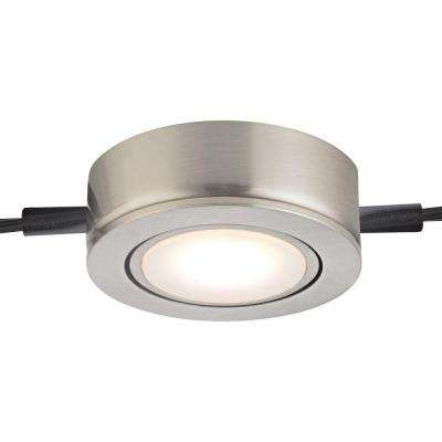 Tuxedo Swivel 1-Light LED Satin Nickel Under Cabinet Light