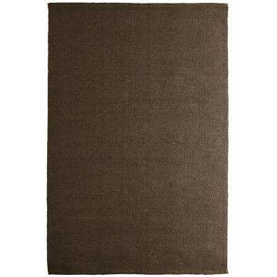 Natural Chic Espresso 8 ft. x 10 ft. Area Rug