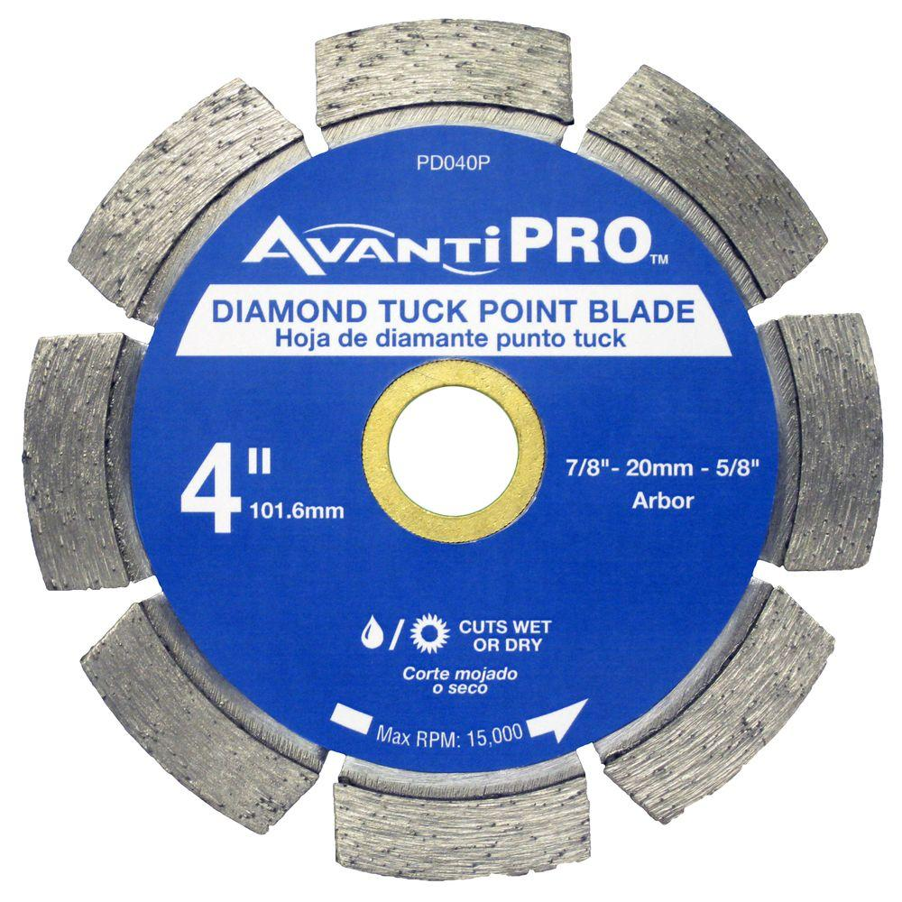 Avanti Pro 4 in. Diamond Tuck Point Blade