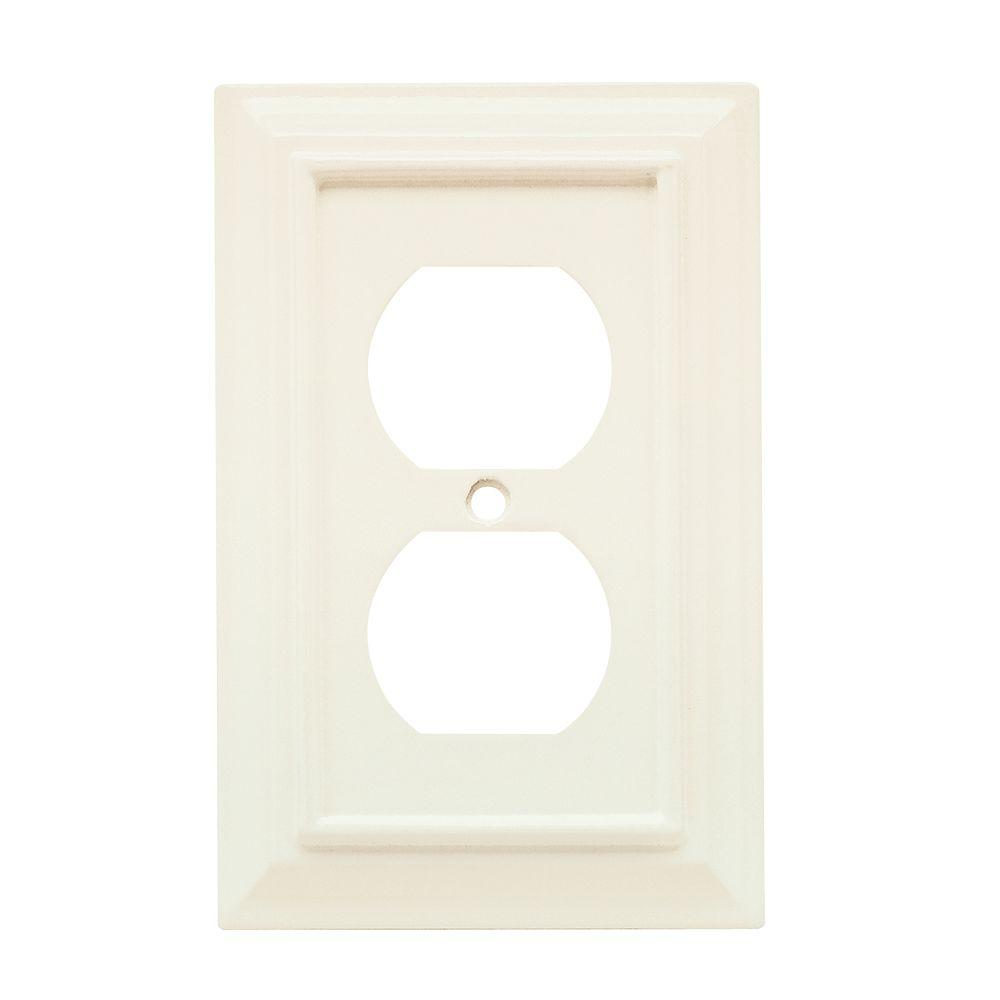 White Electrical Outlet Covers Outlet Wall Plates  Wall Plates  The Home Depot