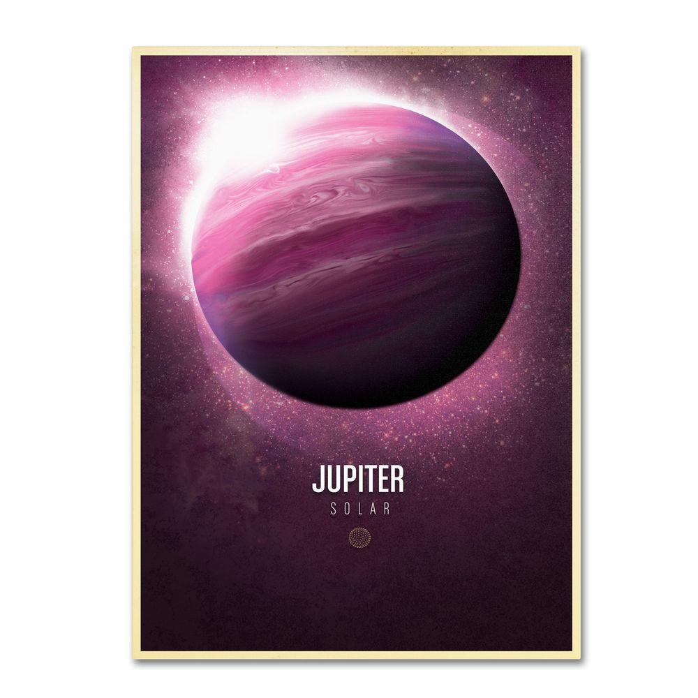 Trademark Fine Art 14 in. x 19 in. Jupiter Canvas Art