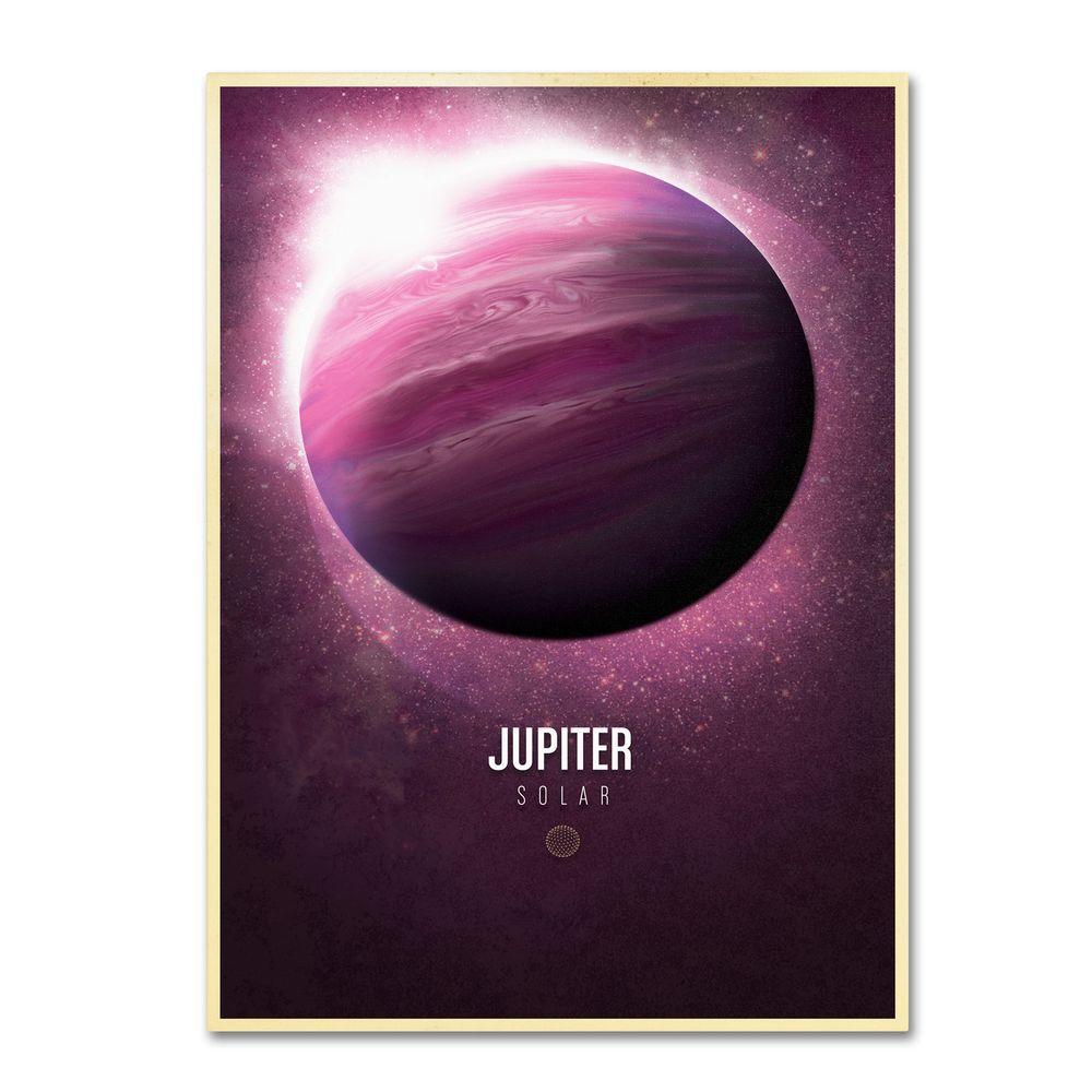 16 in. x 24 in. Jupiter Canvas Art
