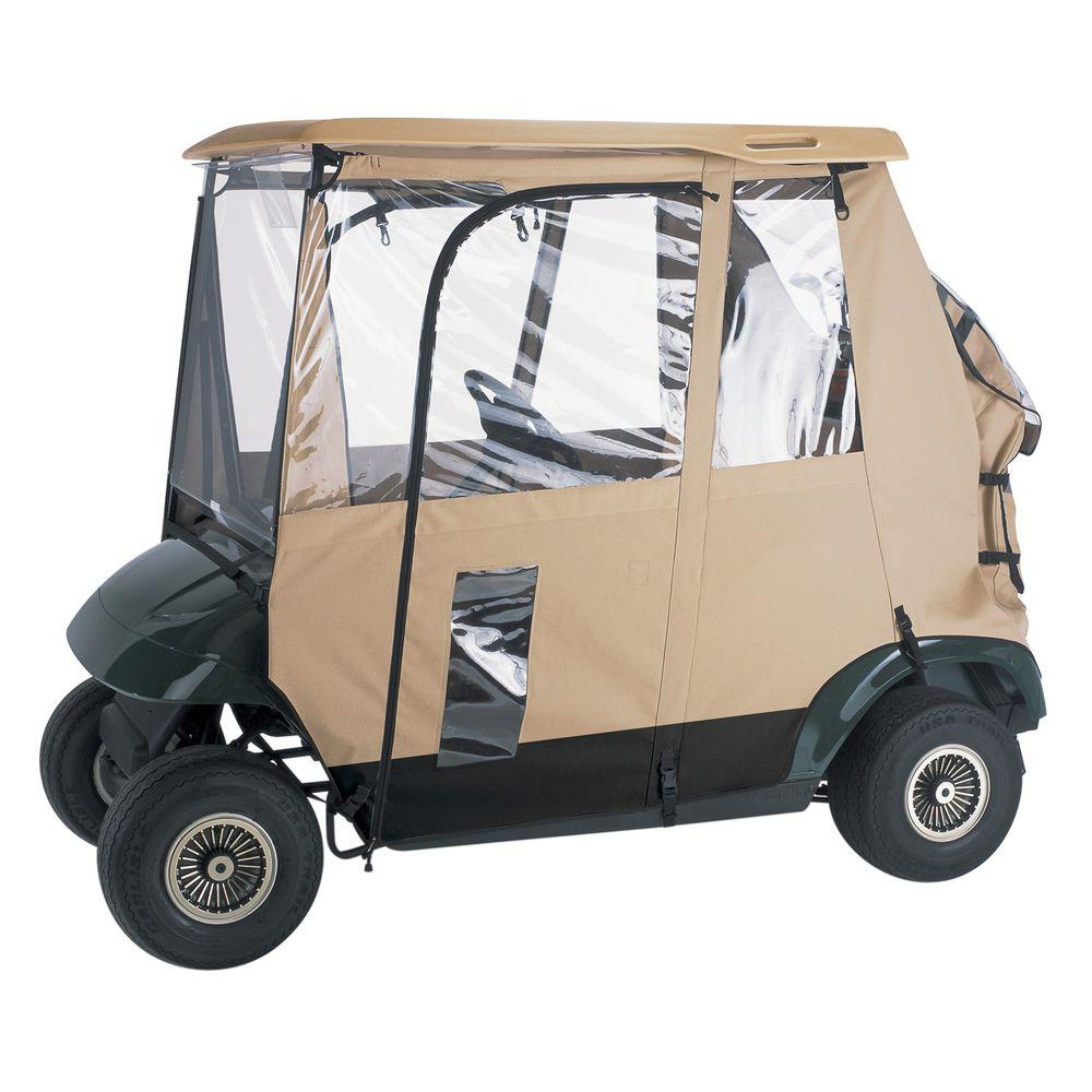 Classic Accessories Deluxe 3-Sided Golf Car Enclosure-DISCONTINUED