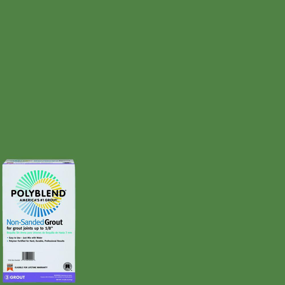 Custom Building Products Polyblend #190 Bay Leaf 10 lb. Non-Sanded Grout