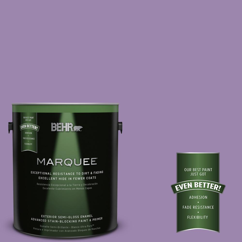 BEHR MARQUEE 1-gal. #M570-5 Celeb City Semi-Gloss Enamel Exterior Paint
