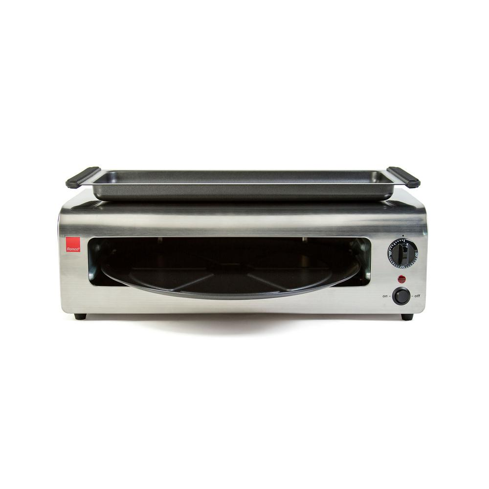 Ronco Pizza and More Countertop Oven-PO1001BLGEN - The Home Depot