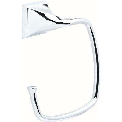 Everly Towel Ring in Polished Chrome