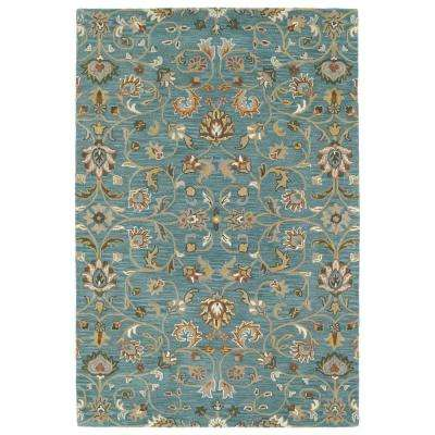 Middleton Turquoise 8 Ft X 10 Area Rug