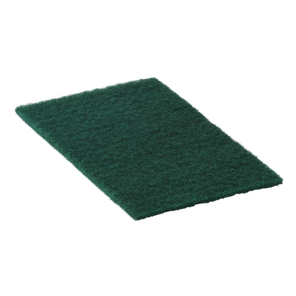 6 in. x 9 in. Jif-Y-Clean Green Medium Duty 90-96 Cleaning Pad (20-Pack)