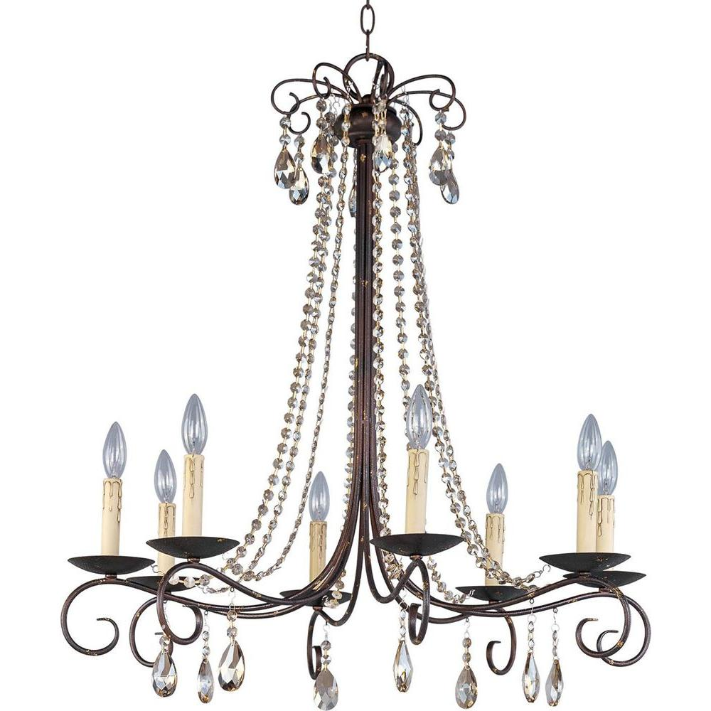 Adriana 8-Light Urban Rustic Chandelier