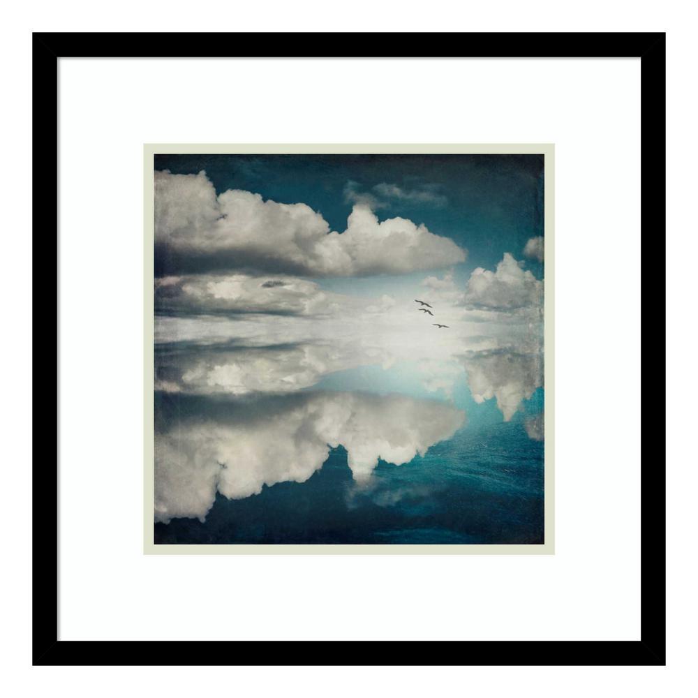 """""""Spaces II - Sea of Clouds"""" by Dirk Wuestenhagen Framed Wall Art"""