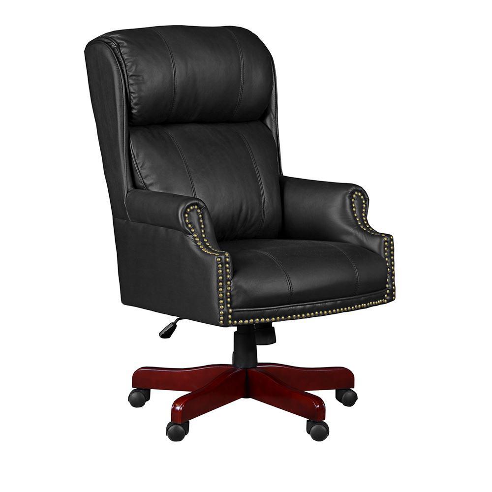Technica Black Swivel Chair