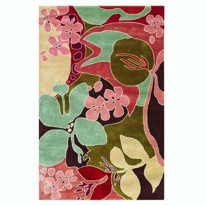Borneo Beige 3 ft. 6 in. x 5 ft. 6 in. Area Rug