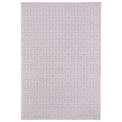 Lily and Liam Pink 8 ft. x 10 ft. Area Rug