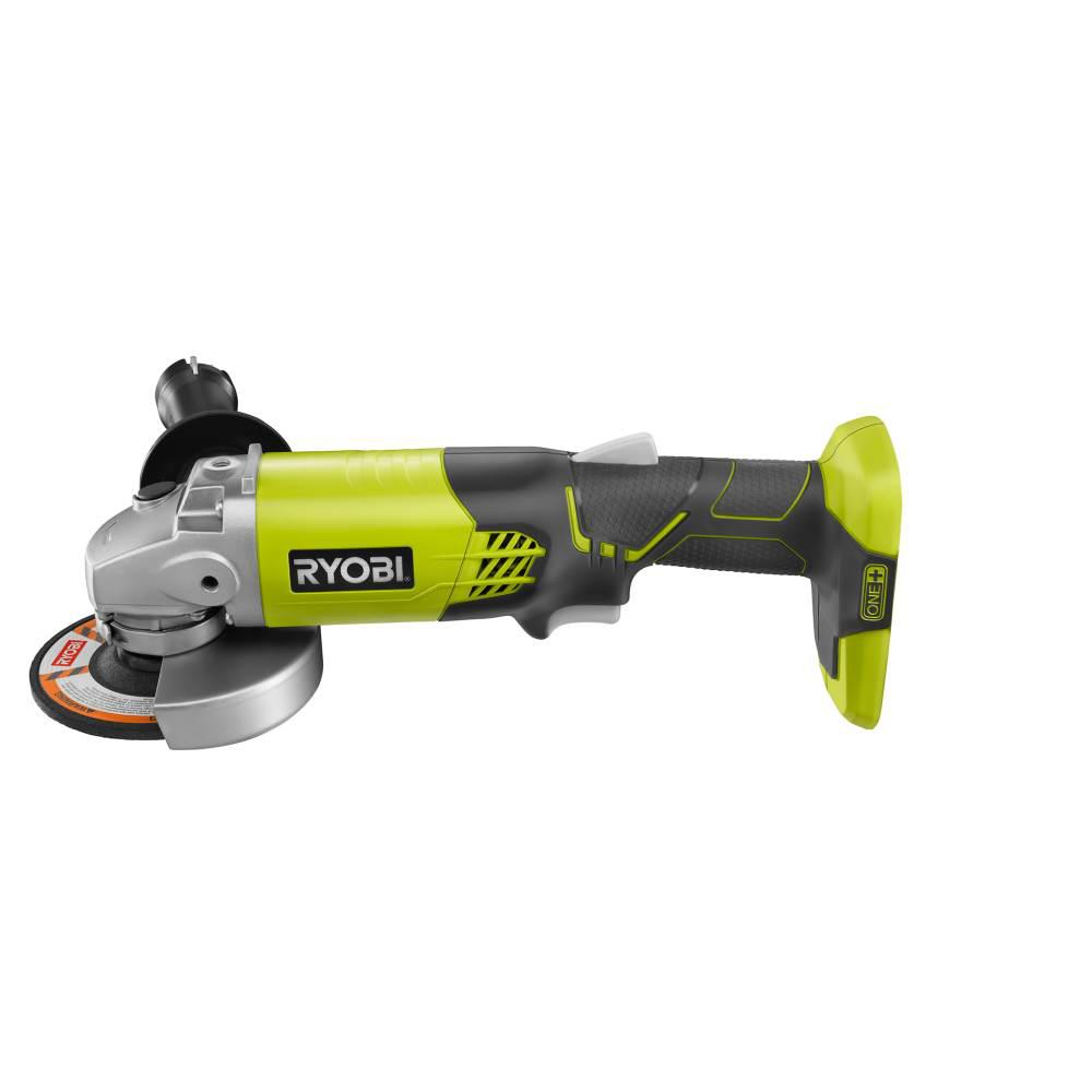 Ryobi 18-Volt ONE+ Cordless 4-1/2 in. Angle Grinder (Tool-Only)