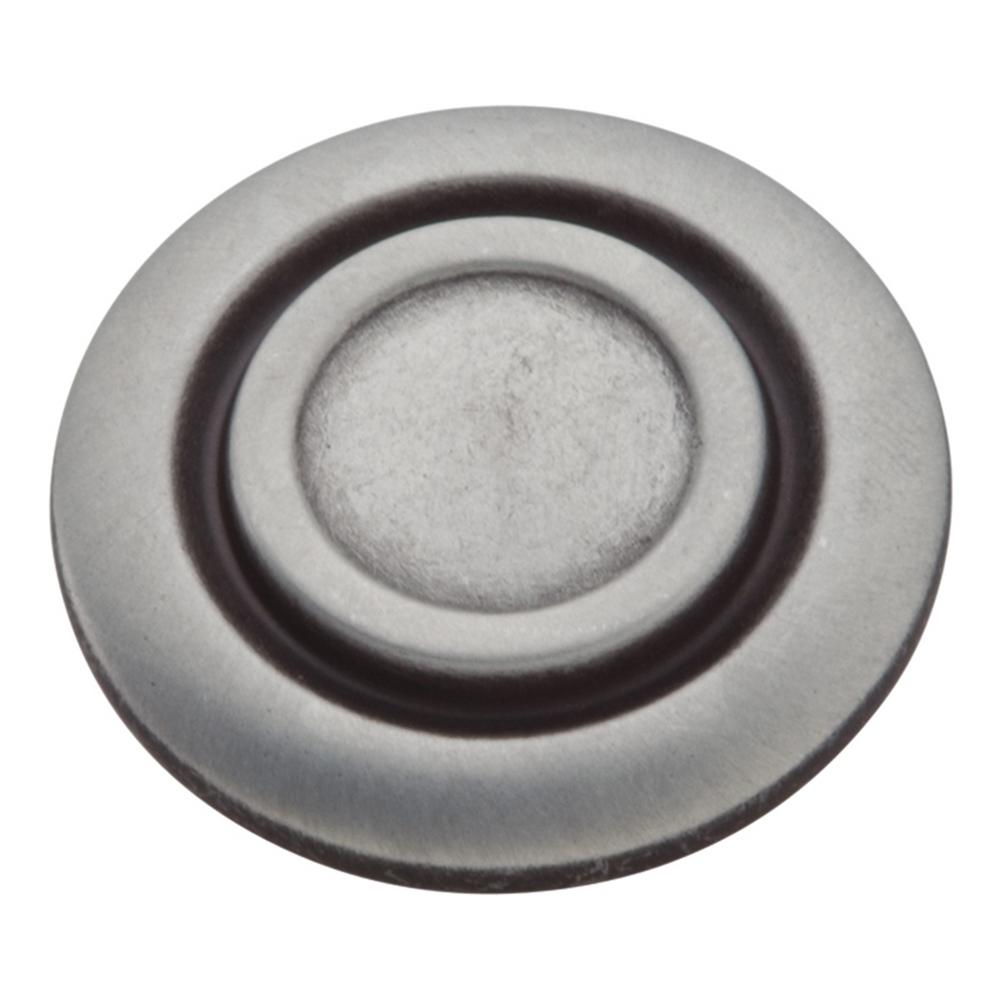 Hickory Hardware Cavalier 1-3/8 in. Antique Pewter Cabinet Knob