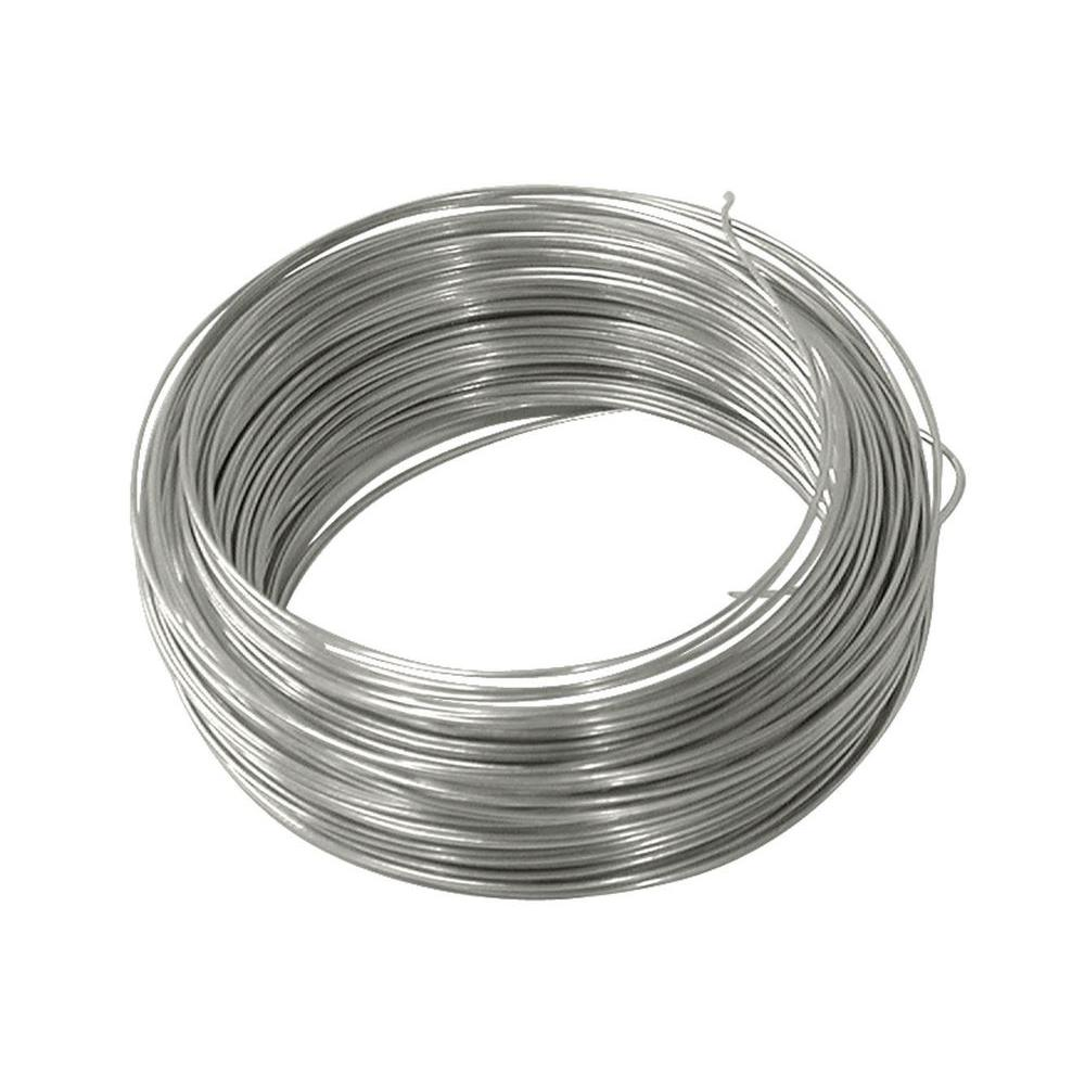 OOK 100 ft. 10 lb. 24-Gauge Galvanized Steel Wire