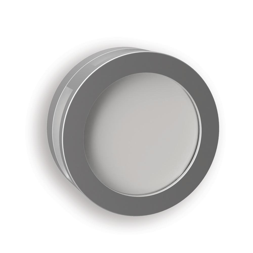 Satin Nickel Porthole Replica LED Night Light