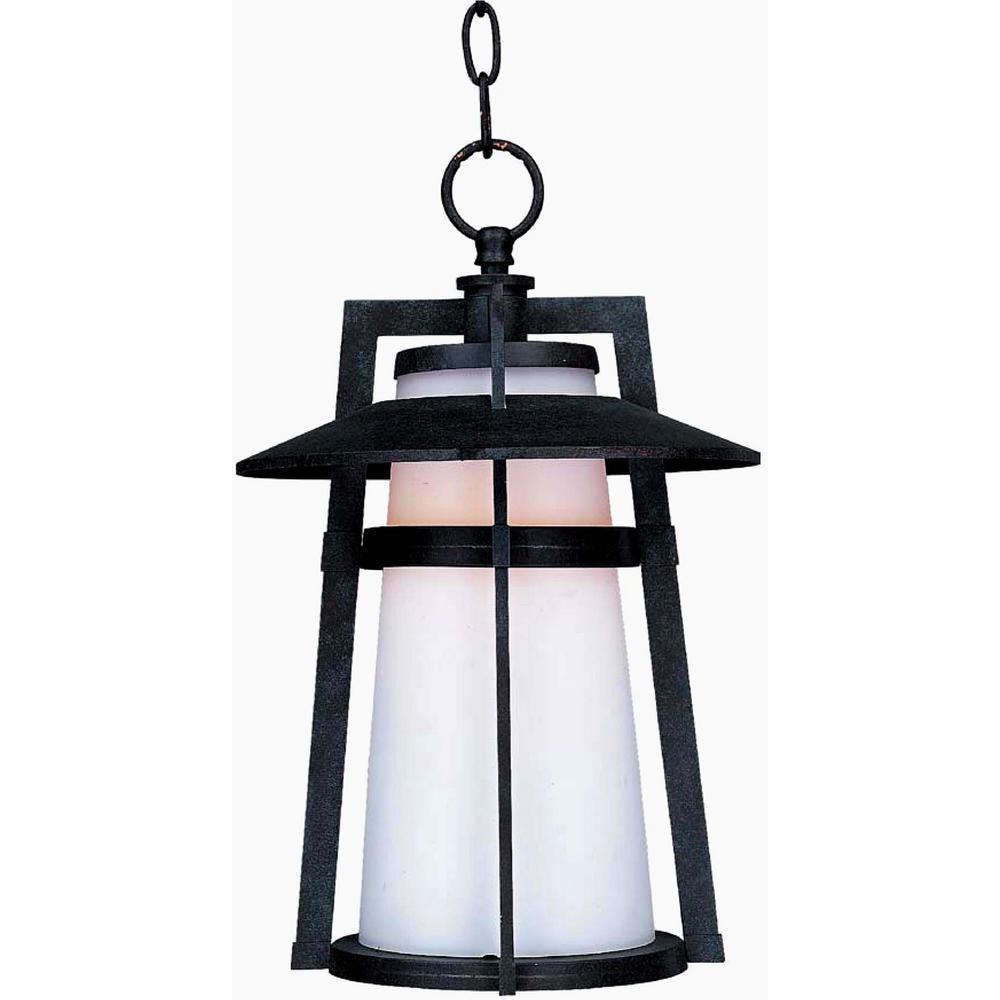 Calistoga 10.25 in. Wide Adobe 1-Light Outdoor Hanging Lantern