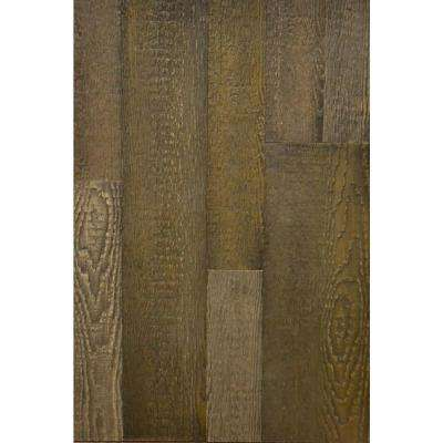 Wall Design 3/8 in. x 22 in. x 96 in. Antik Faux Barn Wood Hampton Embossed Panel