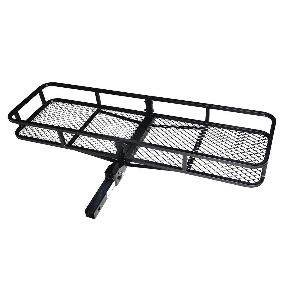 500 lb. Folding Hitch Cargo Carrier Basket