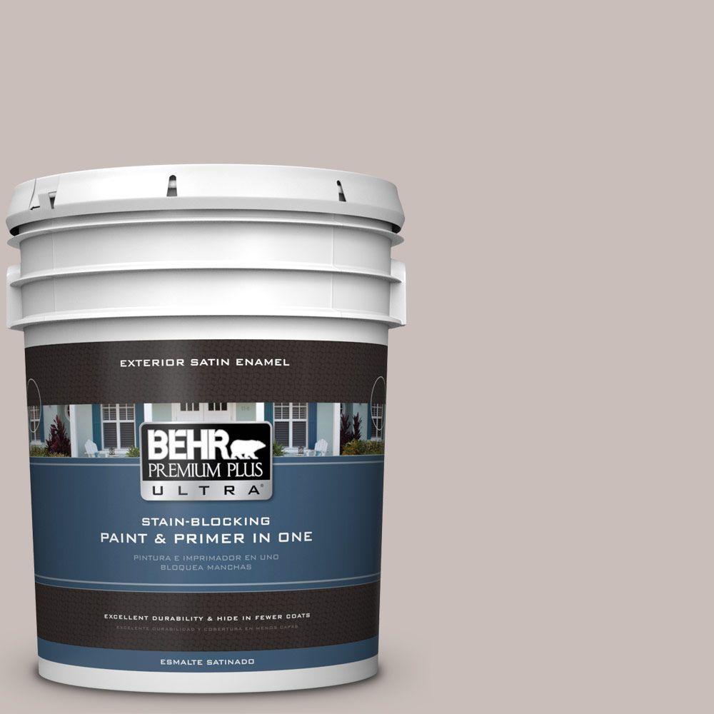 BEHR Premium Plus Ultra 5-gal. #780A-3 Down Home Satin Enamel Exterior Paint, Purples/Lavenders