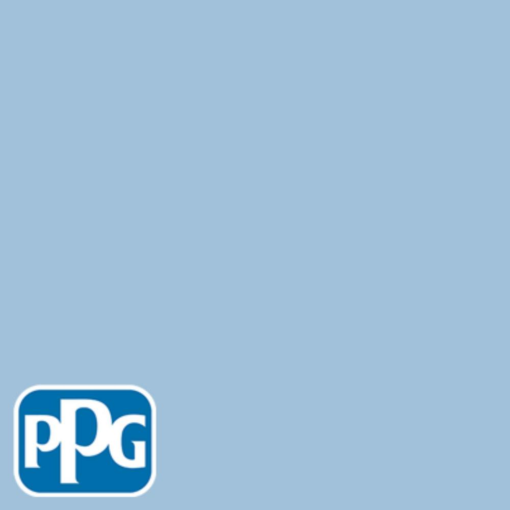 PPG TIMELESS 8 oz. #HDPPGV07U Always Blue Flat Interior/Exterior Paint Sample