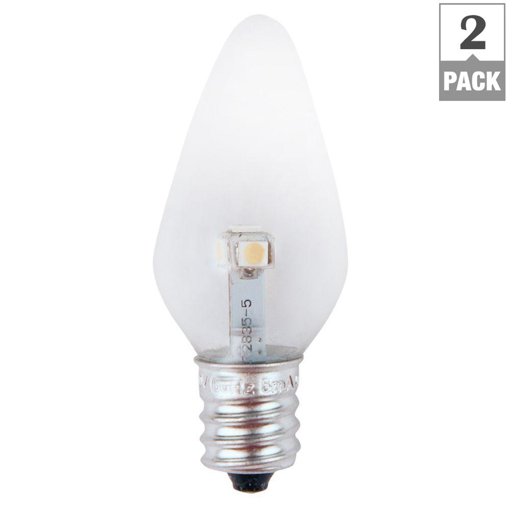 Meridian 7w Equivalent Pure Green Clear C7 Non Dimmable