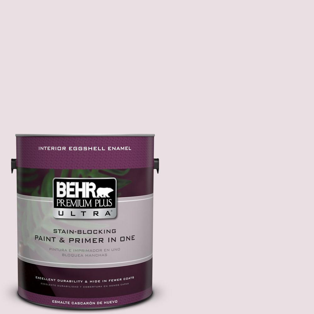 BEHR Premium Plus Ultra Home Decorators Collection 1-gal. #HDC-CT-08 Pink Posey Eggshell Enamel Interior Paint