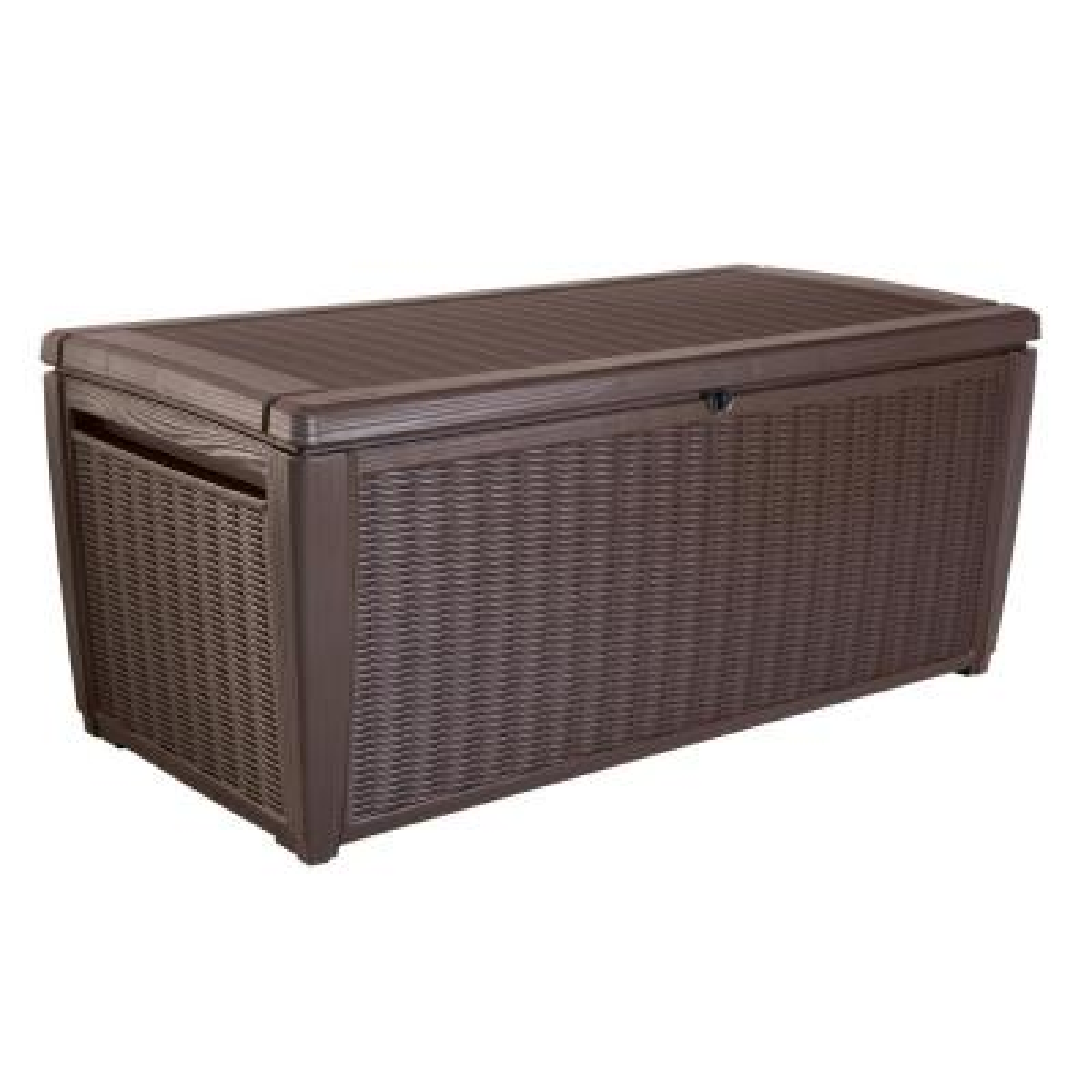 Sumatra 135 Gal. Resin Storage Deck Box