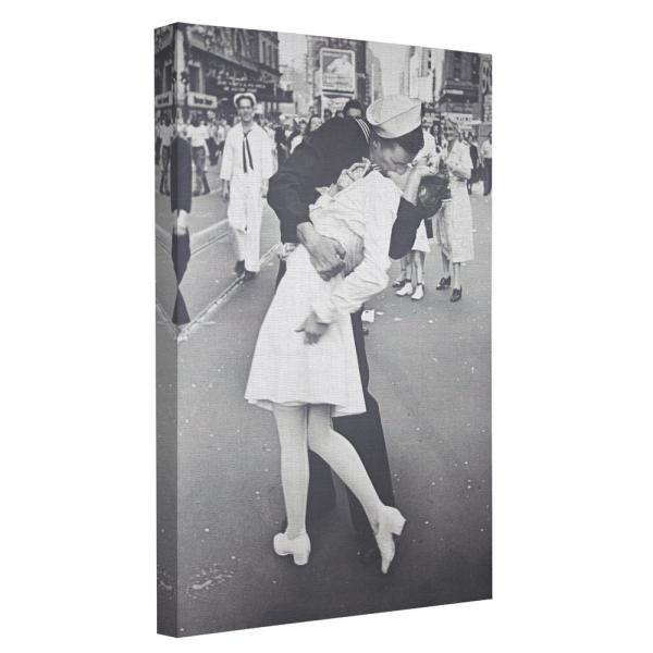 V-J Day in Times Square Canvas Print various sizes Alfred Eisenstaedt photo