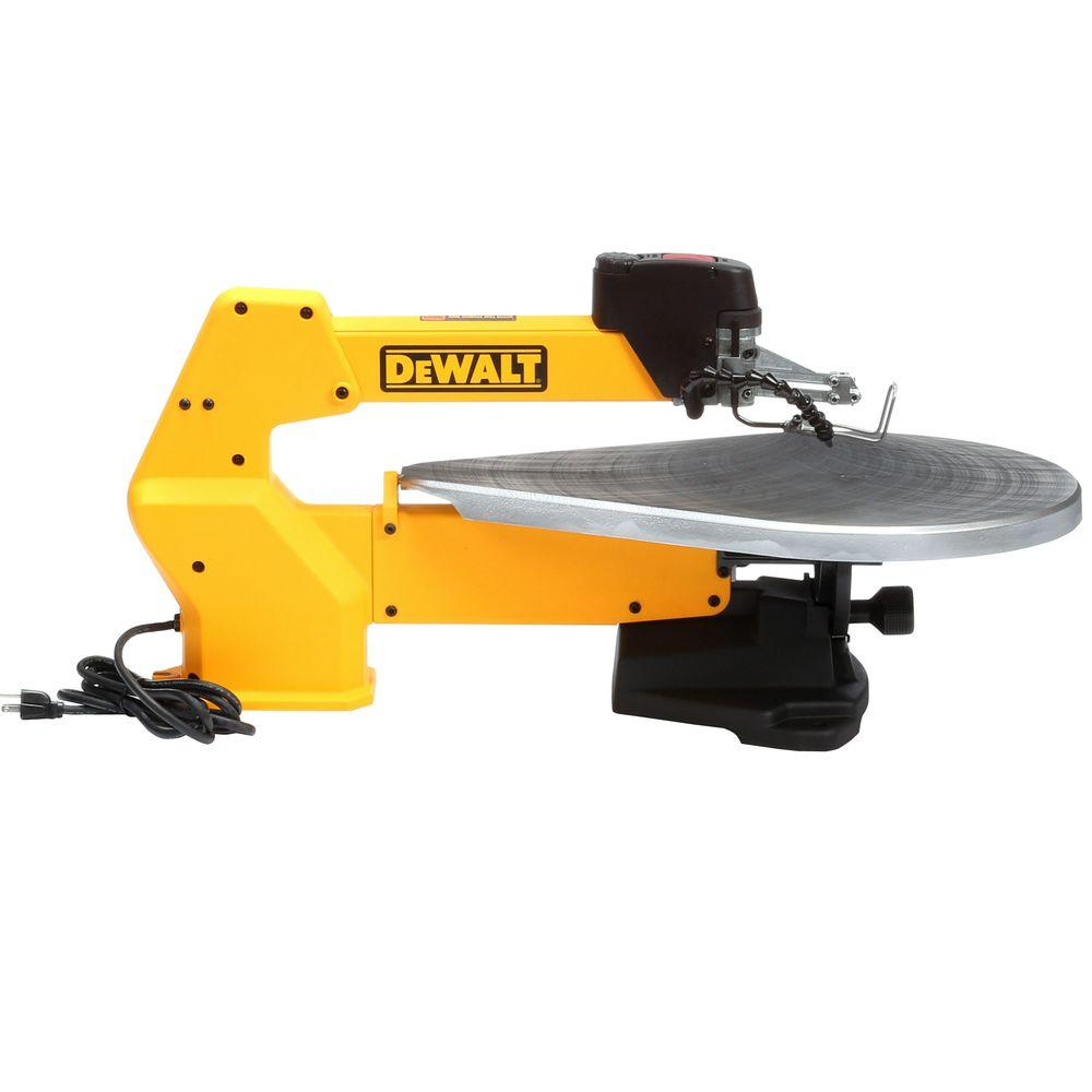 Dewalt 20 in variable speed scroll saw dw788 the home depot variable speed scroll saw greentooth Image collections