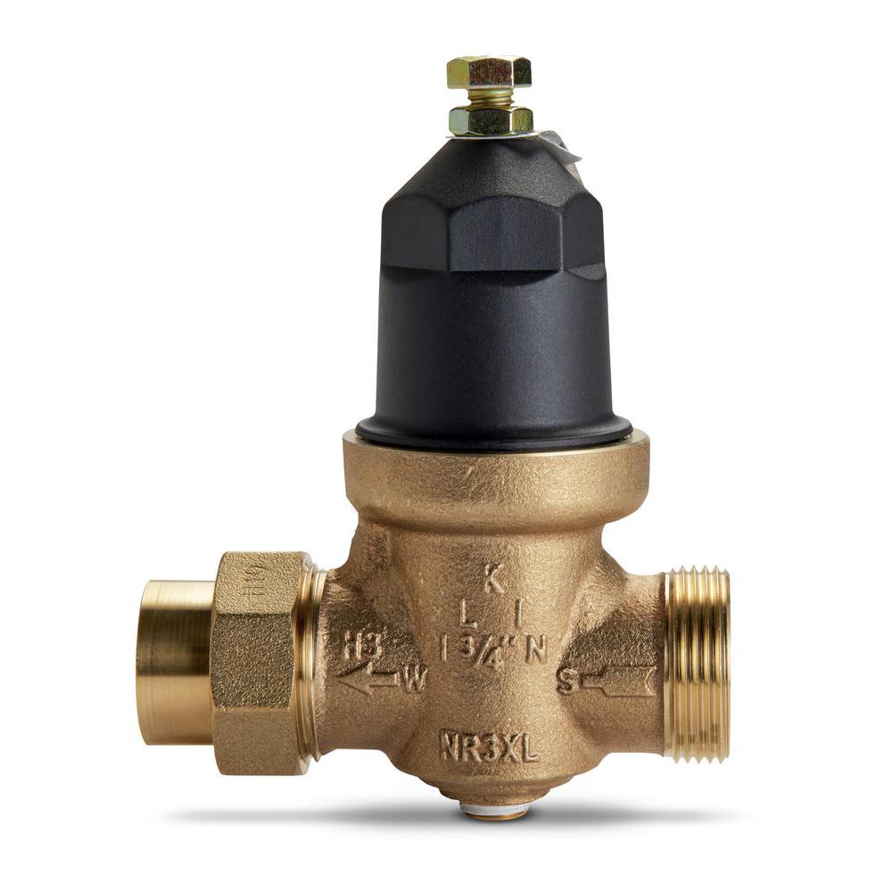 3/4 in  Brass FPT Water Pressure Reducing Valve