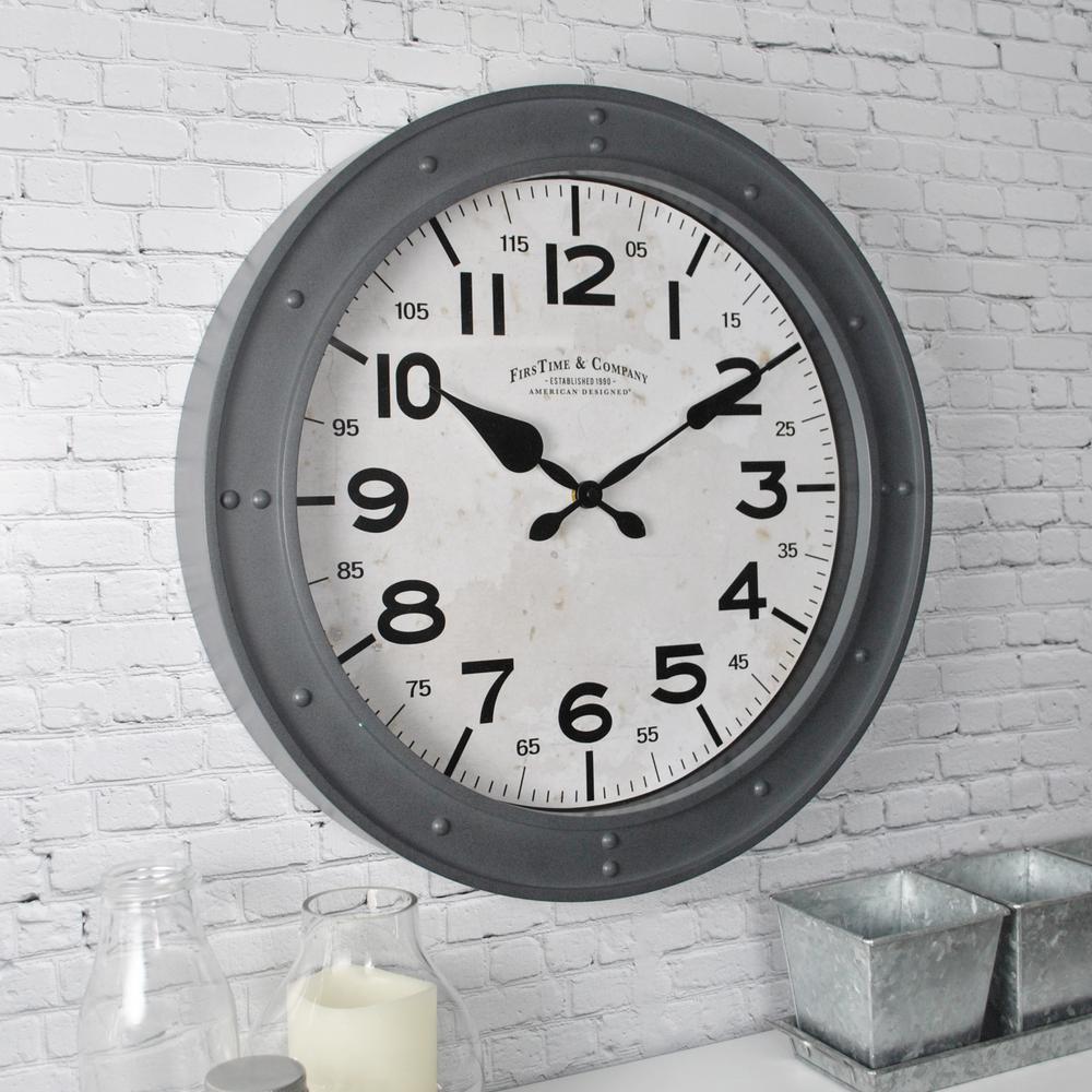 18 in. Donovan Wall Clock